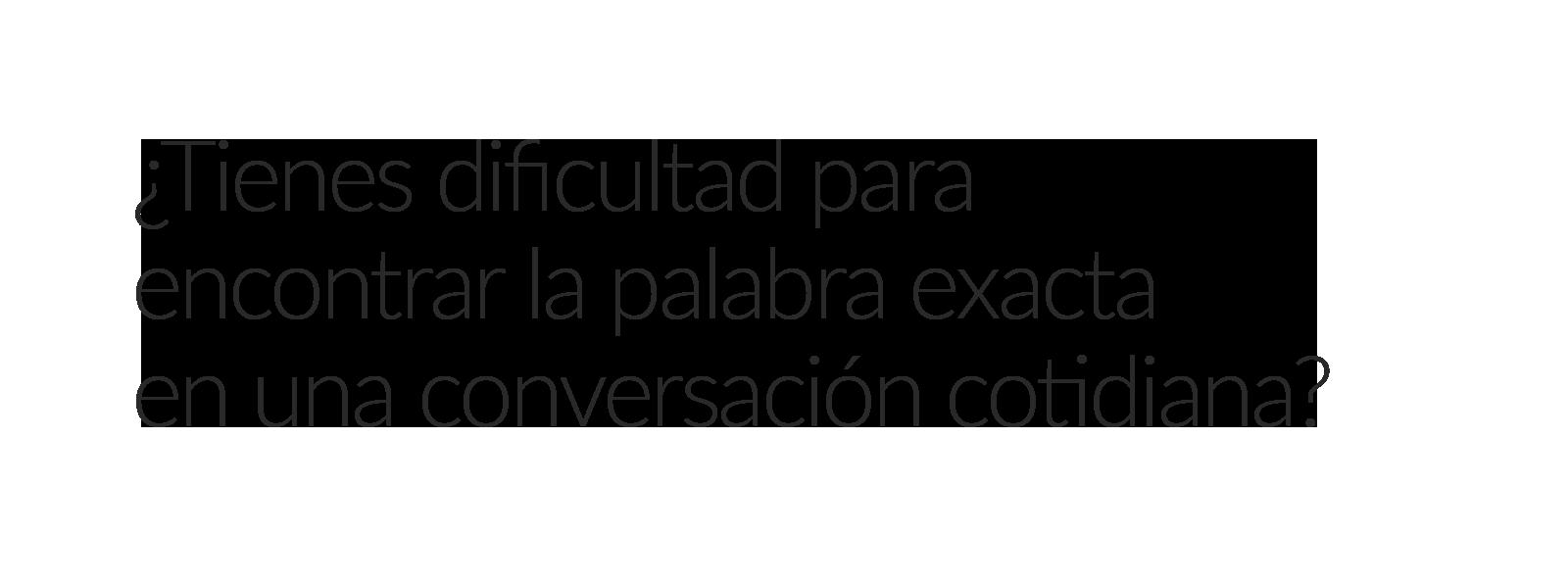 Conversación cotidiana